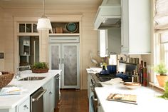 Love the fridge!  Heck I just LOVE this kitchen!