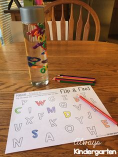 Monday Made It: ABC Jar & a FREEBIE! - Always Kindergarten