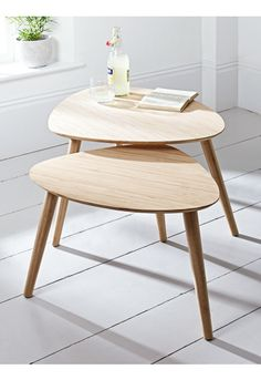 NEW Two Aalto Nesting Tables - Furniture