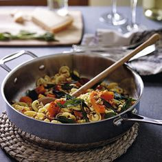 Pasta with butternut and sage, a delicious recipe from the new Cook with M&S app.