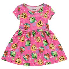 Girls Shopkins Skater Dress