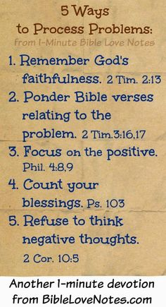 Bible Love Notes: 5 Ways to Process Problems Prayer Scriptures, Bible Prayers, Bible Verses, Bible Love, Love Notes, Spiritual Quotes, Quotes Positive, Bible Quotes, Quotes Quotes