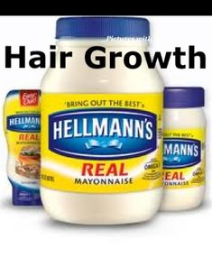 Apply mayonnaise to the roots of your hair 3-4 nights a week, leave in your hair over night and rinse it out completely in the morning. After 2-3 weeks of using the mayonnaise hair treatment, you will notice a significant growth in your hair.