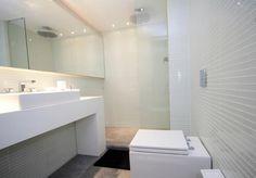 Banheiro com pastilhas Vetromani. vt024 - filete 230x30 1
