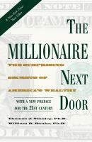 """""""Why aren't I as wealthy as I should be?"""" Many people ask this question of themselves all the time. Often they are hard-working, well educated middle- to high-income people. Why, then, are so few affluent. For nearly two decades the answer has been found in the bestselling The Millionaire Next Door: The Surprising Secrets of America's Wealthy"""