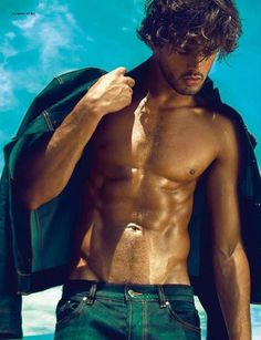 Lope Navo Photographs a Stunning Marlon Teixeira for L'Officiel Hommes Korea