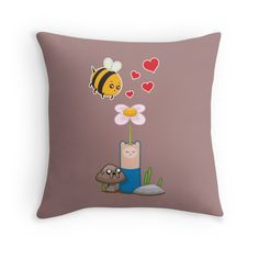 Available as T-Shirts & Hoodies, Men's Apparels, Stickers, iPhone Cases, Samsung Galaxy Cases, Posters, Home Decors, Tote Bags, Pouches, Prints, Cards, Scarves, Kids Clothes, iPad Cases, Laptop Skins, Drawstring Bags, Laptop Sleeves, and Stationeries #Adventuretime #jake #finn #flower #bee #love #hearts #nerd #cartoon #jakethedog #breeze #relationship #vector #vectorart #geek #cute #valentines