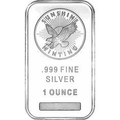 FIVE 1 oz Sealed Sunshine Minting Silver Bar 5 .999 Fine