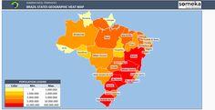 Italy Geographic Heat Map Generator | Geographic Heat Map Generators ...