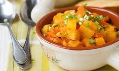 Rezept für Kartoffelgulasch mit Karotten.