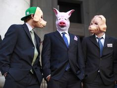 wallstreet pigs