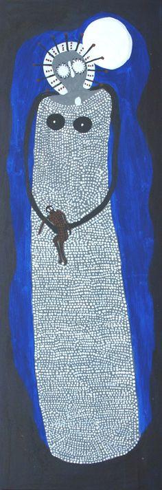 Wandjina by Jack Dale Mengenen