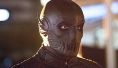 Zoom  http://dccomicsnews.com/2015/11/08/the-flash-enter-zoom-photos-and-first-full-look-at-zoom/