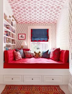 idea for the 2nd floor extra small room; convert to kids room. Excellent design and colors. ~ designed by Nick Olsen