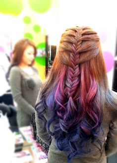 RENEOCT.COM: Sponsored: Gorgeous Purple and Blue Ombre Hair Colour by Shunji Matsuo Hair Salon @ 313 and The Biolage Day!