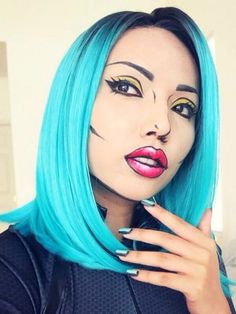 4 make-up tuts to inspire your Halloween look!
