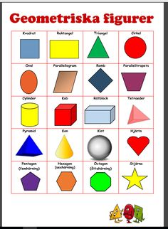 lek med geometriska former Kids Math Worksheets, Preschool Printables, Math Activities, Preschool Activities, Memory Games For Kids, Math For Kids, Abacus Math, Education Galaxy, Learn Swedish