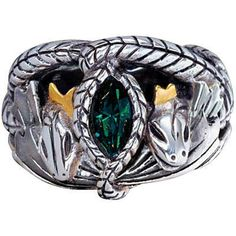 Lord Of The Rings The Dwarven Ring Of Power Gold Plated