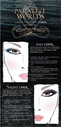 Are you innocent Clary or sultry Isabel? Venture into NYX Cosmetics' new collection inspired by The Mortal Instruments.