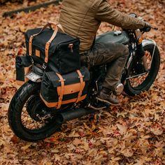 The motorcycle mounting solution we came up with for the duffle bag is super simple easy to use and best of all it doesn't break the Motorcycle Camping, Scrambler Motorcycle, Motorcycle Design, Motorcycle Style, Biker Style, Motorcycle Luggage Bags, Vespa, Virago Cafe Racer, Motorcycle Saddlebags
