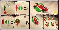 Tutorial  Francesco de Cars 2  para Cupcake