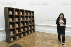 Ai Weiwei press preview at the RA London, Britain - 15 Sep 2015  Artwork titled Dust to Dust (2008) by artist Ai Weiwei 15 Sep 2015