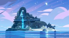 stevencrewniverse:  A selection of Backgrounds from the Steven Universe episode: Island Adventure Art Direction: Elle Michalka Design: Sam Bosma Paint: Amanda Winterstein, Jasmin Lai