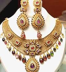 Jewellery made up of beads and artificial stones is the craze among girls.They have an ethnic appeal to it and can be worn with indian as well as western outfits. They look unique, add an appealing factor and completes the attire.Imported #Jewellery is highly appreciated for their sophisticated and elegant look and fine finish at affordable prices.