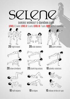 Selene Workout                                                                                           More