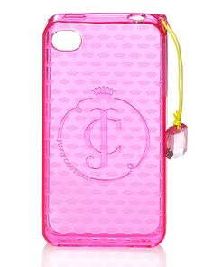 My iPhone's case. Juicy Couture.