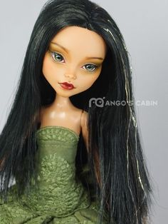 "Monster High Repaint Custom OOAK ""Rebecca"" by Mango's Cabin"