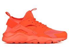 Nike air huarache run ultra bright crimson orange new 833147-800 new box