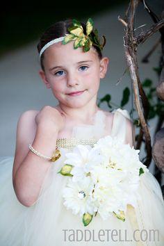 Full flower tutu dress greek goddess costume!  www.taddletell.com