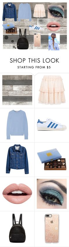 """""""Untitled #80"""" by sonja-658 ❤ liked on Polyvore featuring beauty, See by Chloé, Equipment, adidas Originals, Naeem Khan, Godiva, Nevermind, Disney, STELLA McCARTNEY and Casetify"""