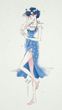 Sailor Mercury by ash