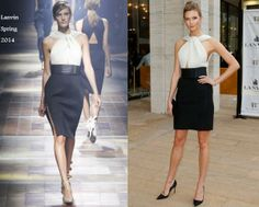 Karlie Kloss In Lanvin - American Ballet Theatre 2014 Opening Night Spring Gala. re-tweet and favorite it here: https://twitter.com/MyFashBlog/status/466391493943754754/photo/1