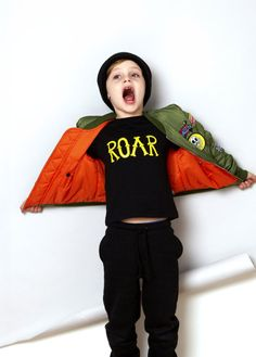 R O A R | #Typographic #Fun By Ruff and Huddle