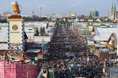 oktoberfest: General view of the throng