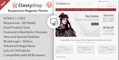 Shopping Classy Shop - Magento Responsive TemplateThis site is will advise you where to buy