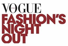 La Vogue Fashion's Night Out 2012