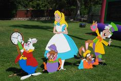Mad Hatter / Alice in Wonderland theme party props available to rent from : Wonderland Party Props 661 250-8164 ( See us on Facebook )