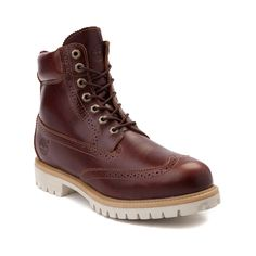 "Mens Timberland Icon 6"" Brogue Boot (Wingtip Boots)"