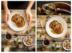 Pumpkin Pancakes/ Placuszki Dyniowe