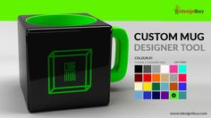 Custom Mug Designer Tool