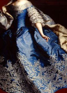 warpaintpeggy:  INCREDIBLE DRESSES IN ART (60/∞)Maria Theresa by Martin van Meytens, 1749