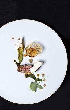 Rota das Estrelas 2014_Feitoria | Flickr - Photo Sharing! Chef João Rodrigues | Feitoria | Lisboa Wagyu, beringela, miso e alho preto Wagyu, aubergine. miso and black garlic Siza Tinto 2009 | Alentejo