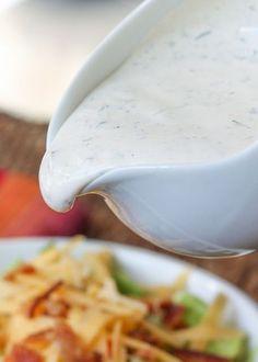 No-Mayonnaise Ranch Dressing Recipe | Stuff I Like | Pinterest ...
