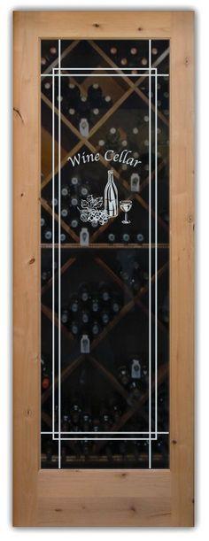 Wine Tasting Solid Frost - Ultra Border w/ Text