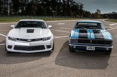 Nice Chevrolet 2017: 2014 Chevrolet Camaro Z/28 & 1967 Chevrolet Camaro Z/28... Chevrolet Check more at http://carboard.pro/Cars-Gallery/2017/chevrolet-2017-2014-chevrolet-camaro-z28-1967-chevrolet-camaro-z28-chevrolet/