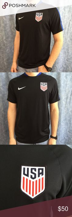 f4a785cbf Nike Authentic USA Soccer Jersey Great quality Nike USA soccer jersey.  Support your country with